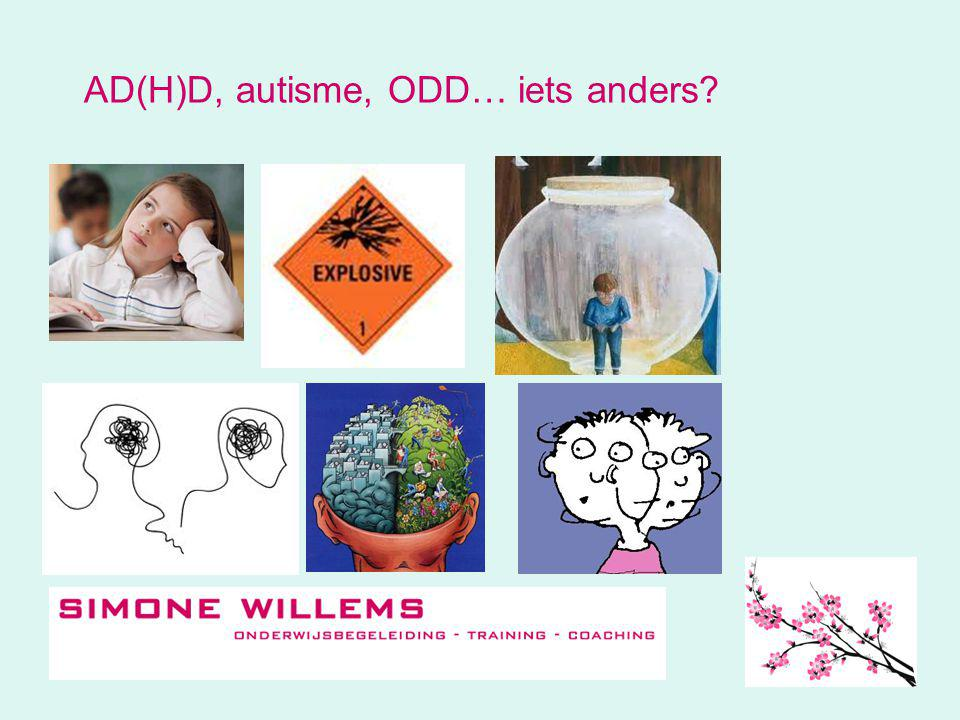 AD(H)D, autisme, ODD… iets anders