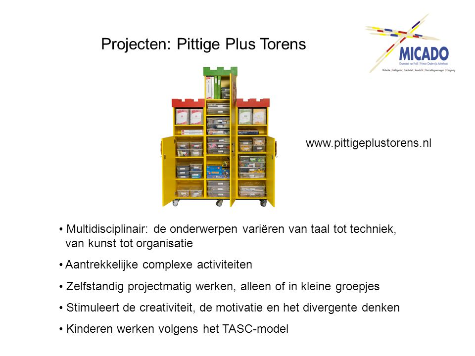 Projecten: Pittige Plus Torens