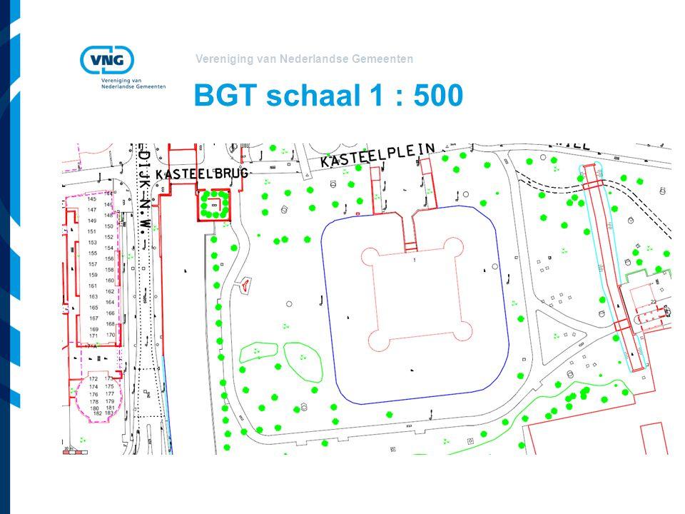 BGT schaal 1 : 500