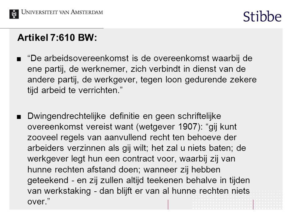 Artikel 7:610 BW:
