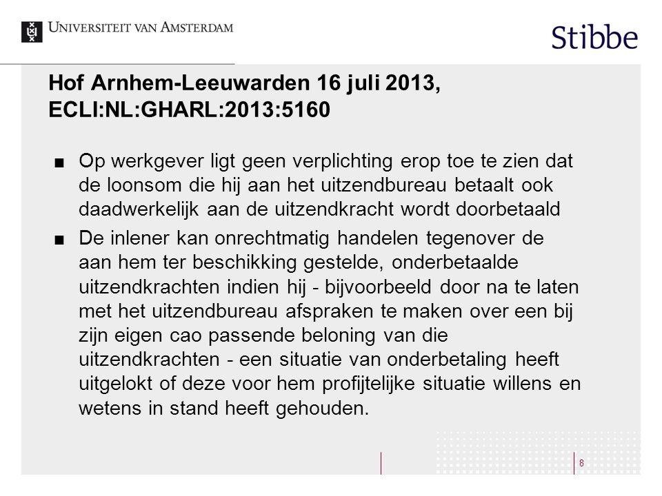 Hof Arnhem-Leeuwarden 16 juli 2013, ECLI:NL:GHARL:2013:5160