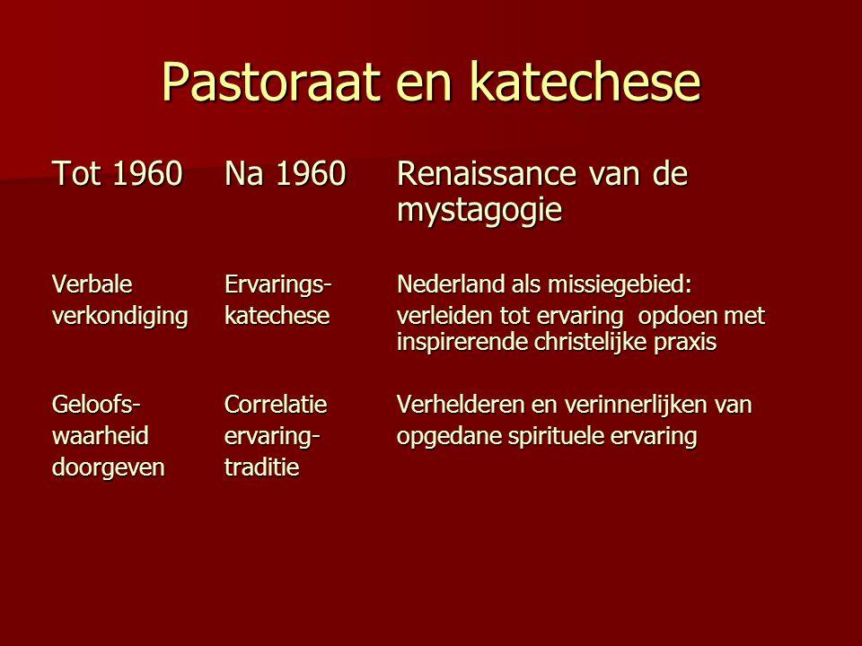 Pastoraat en katechese