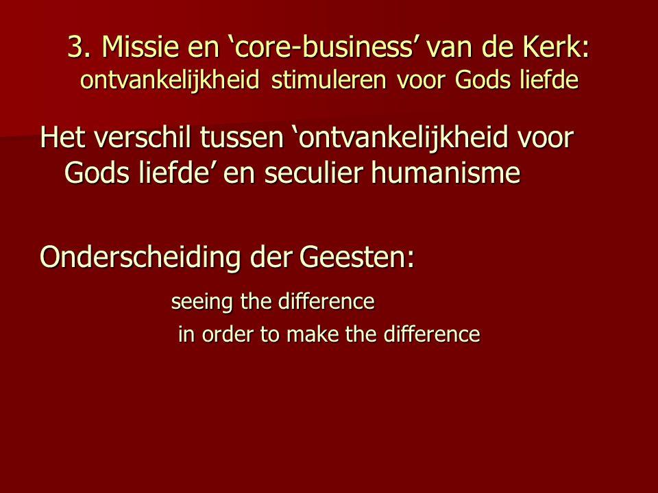 Onderscheiding der Geesten: seeing the difference