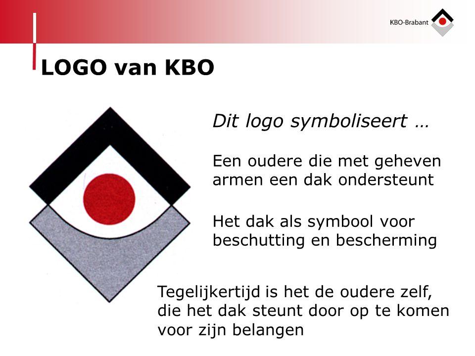 LOGO van KBO Dit logo symboliseert …