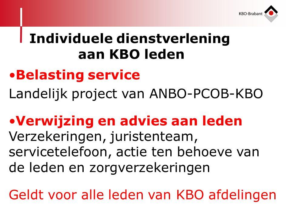 Individuele dienstverlening