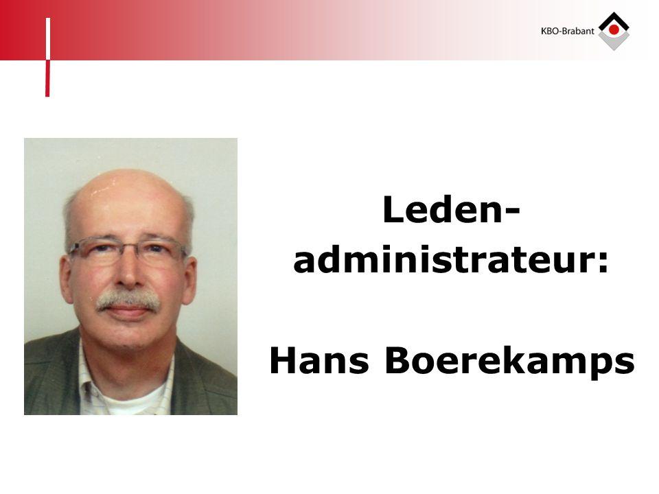 Leden-administrateur:
