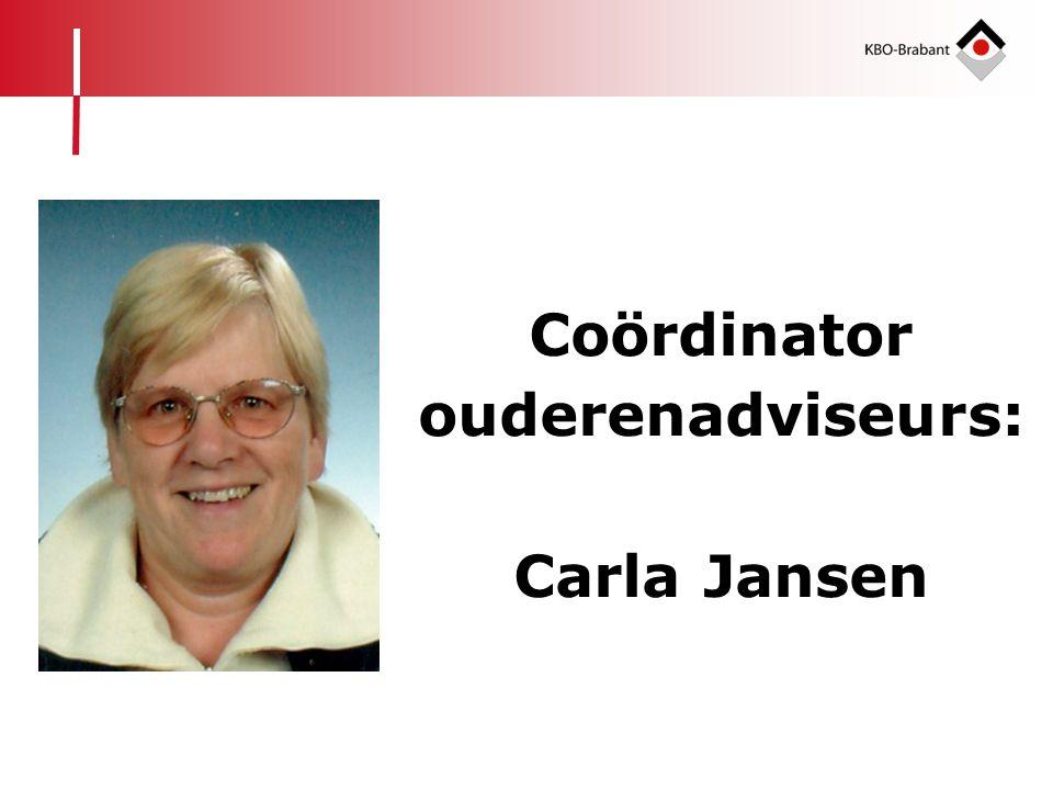 Coördinator ouderenadviseurs: