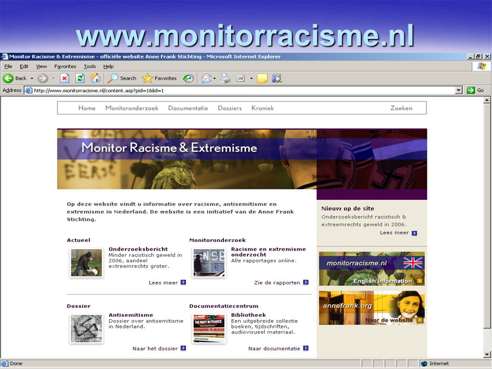 www.monitorracisme.nl