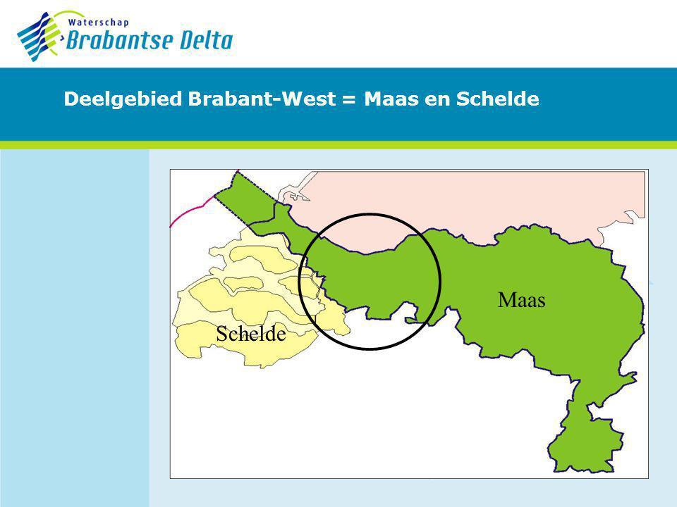 Deelgebied Brabant-West = Maas en Schelde