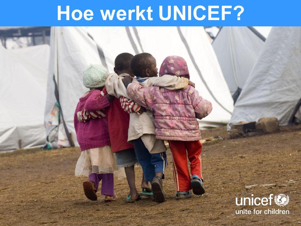 Hoe werkt UNICEF