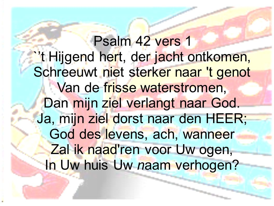tPsalm 42 vers 1