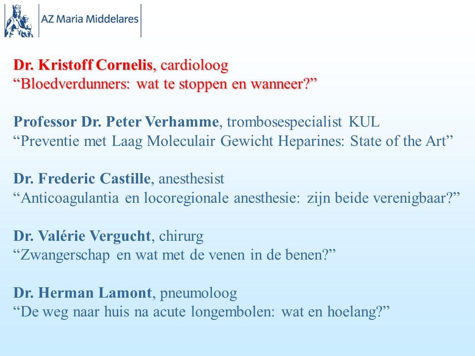 Dr. Kristoff Cornelis, cardioloog