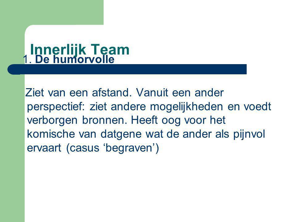 Innerlijk Team 1. De humorvolle