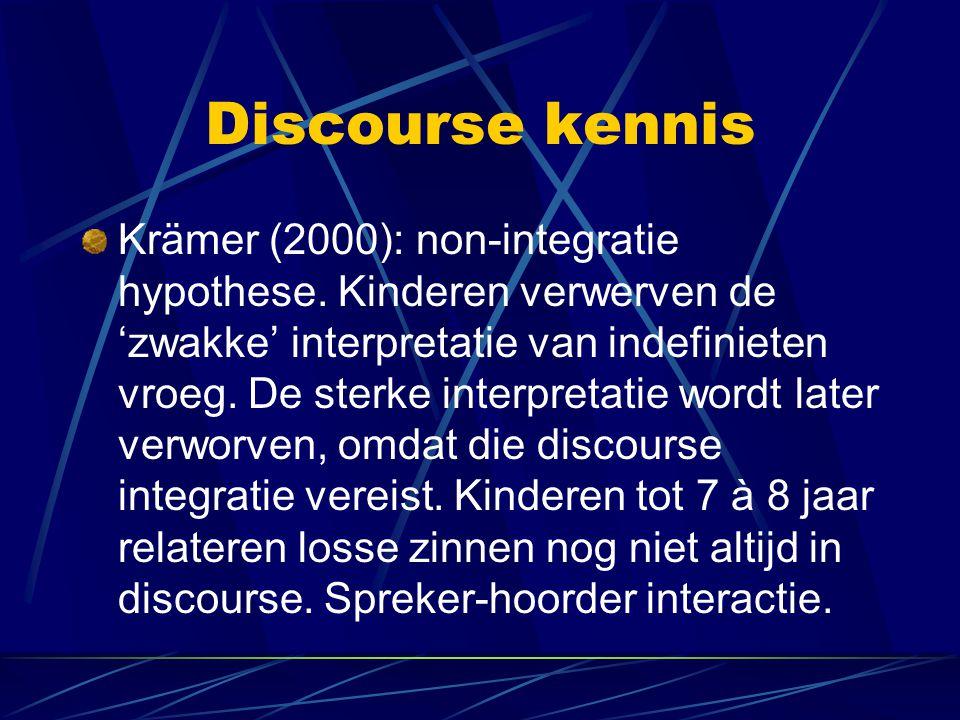 Discourse kennis