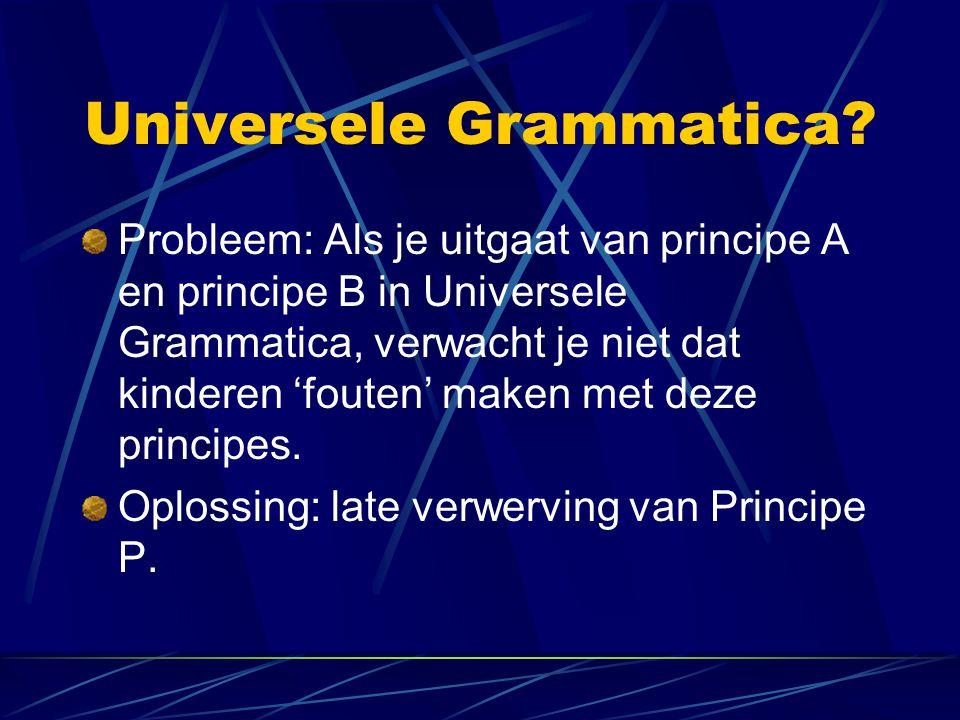 Universele Grammatica