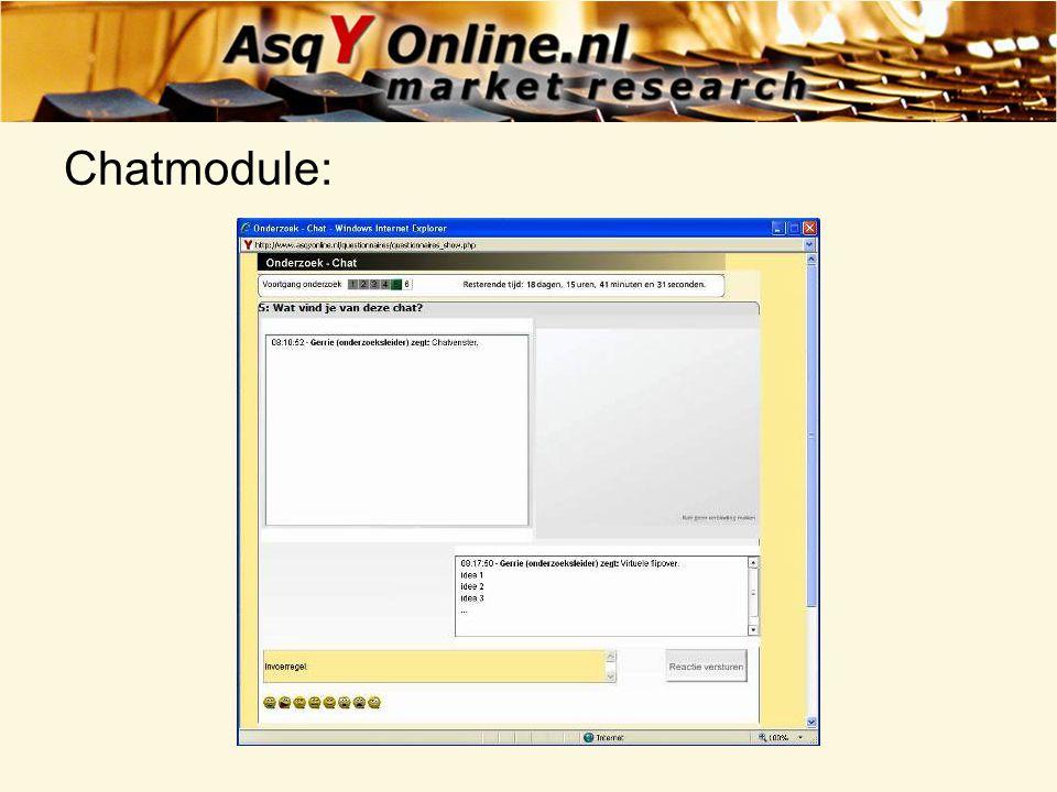 Chatmodule:
