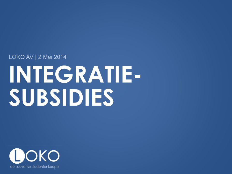 Integratie-subsidies
