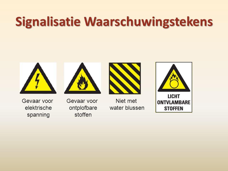 Signalisatie Waarschuwingstekens