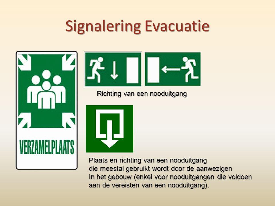 Signalering Evacuatie