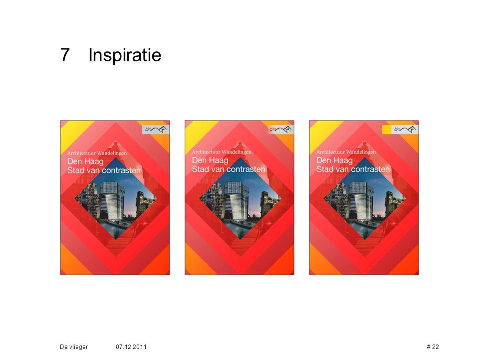7 Inspiratie De vlieger 07.12.2011