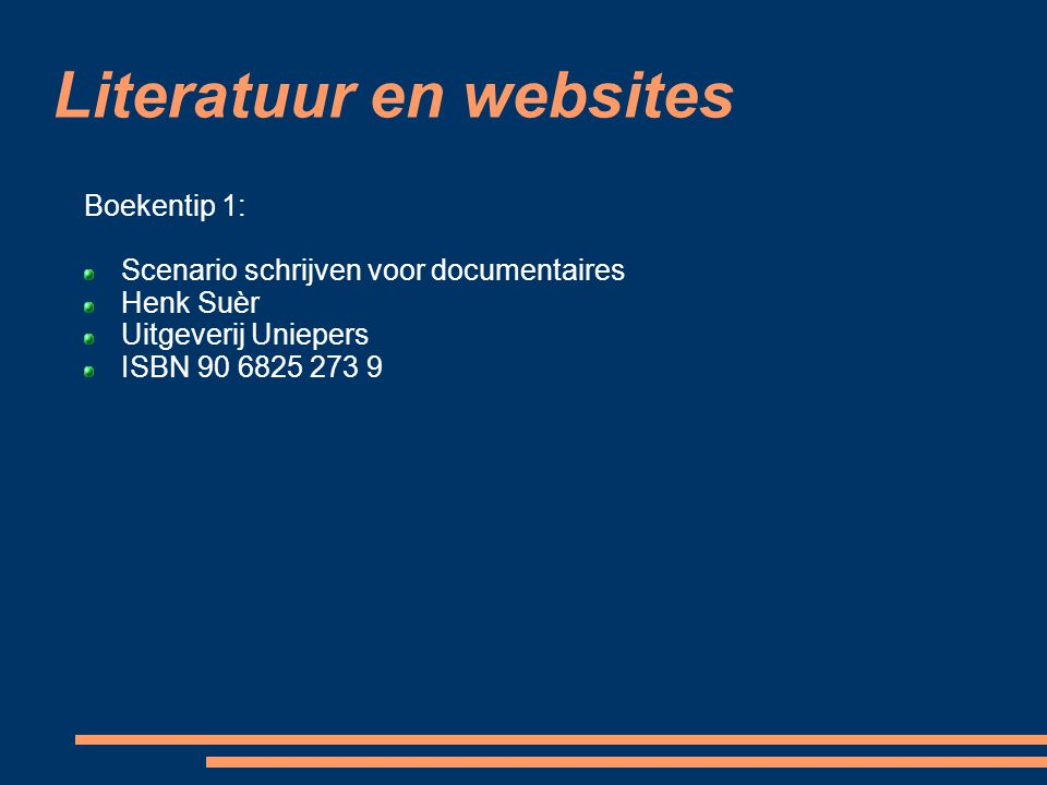 Literatuur en websites