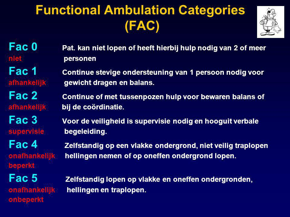 Functional Ambulation Categories (FAC)