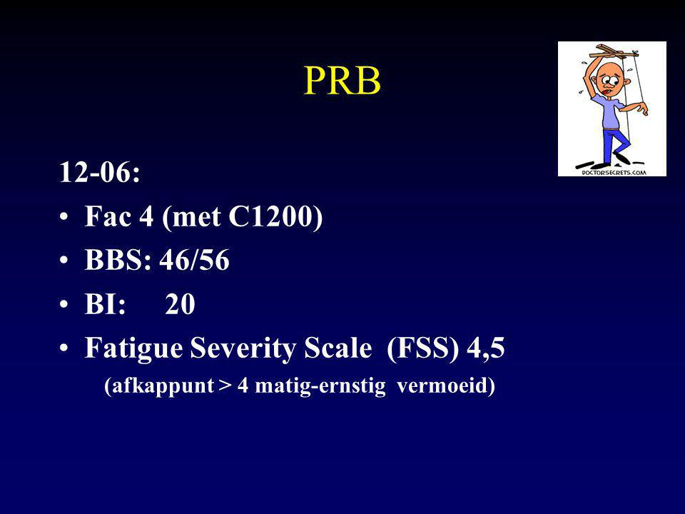 PRB 12-06: Fac 4 (met C1200) BBS: 46/56 BI: 20