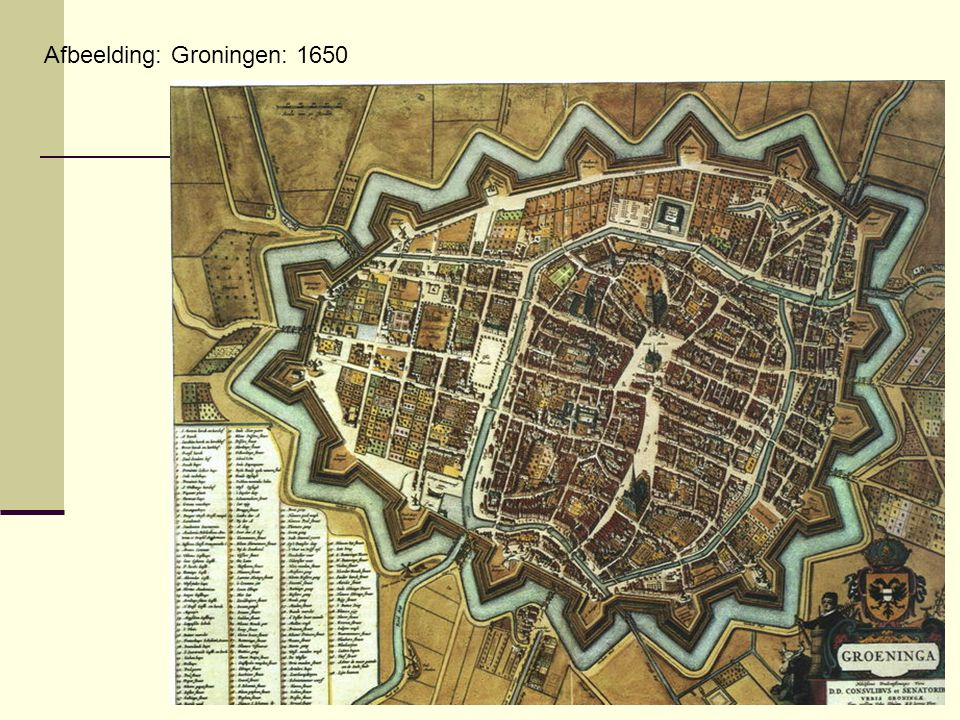 Afbeelding: Groningen: 1650