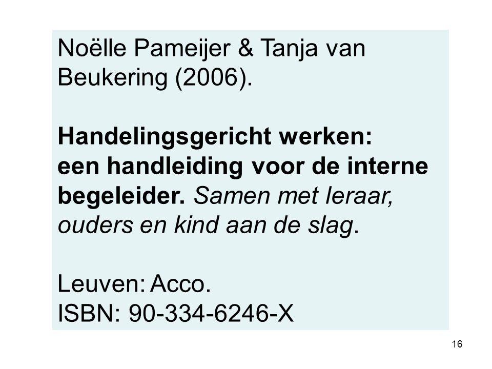 Noëlle Pameijer & Tanja van