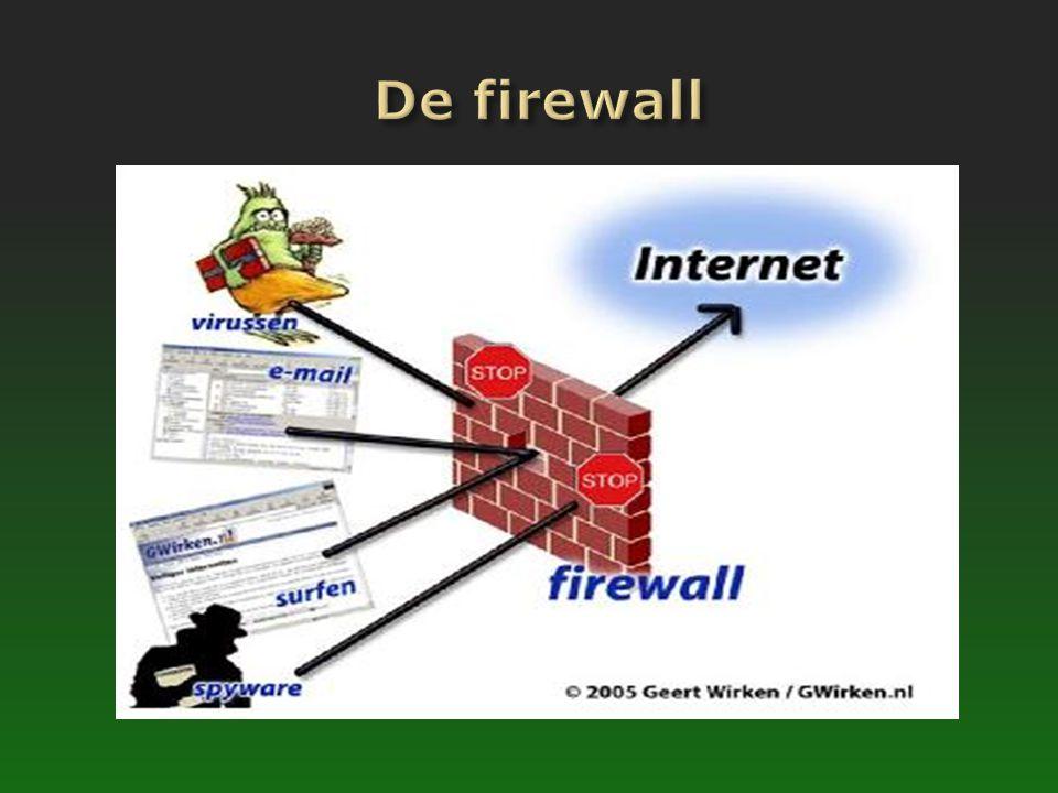 De firewall