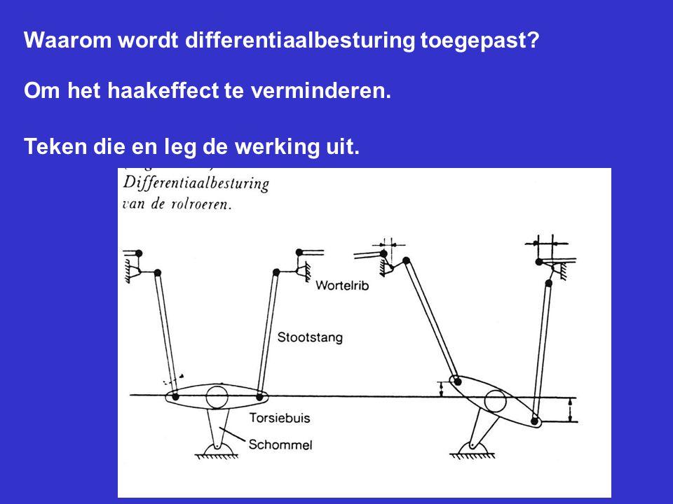 Waarom wordt differentiaalbesturing toegepast