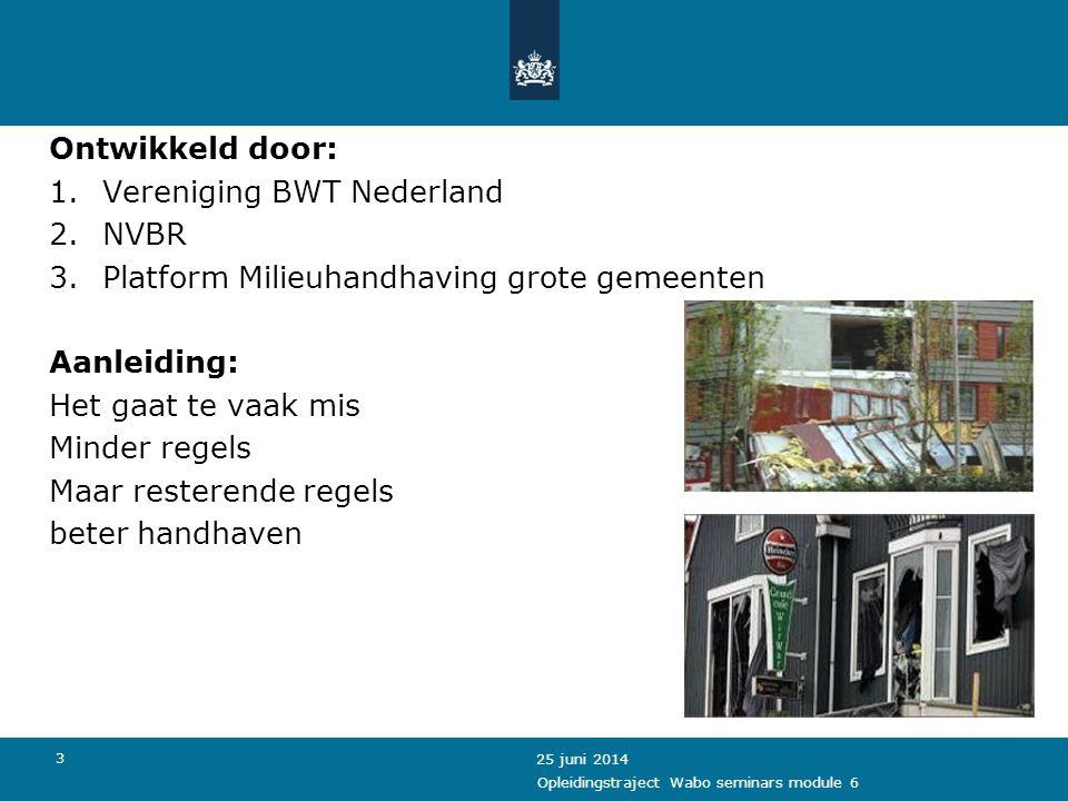 Vereniging BWT Nederland NVBR