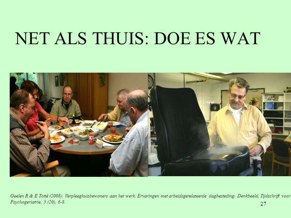 NET ALS THUIS: DOE ES WAT