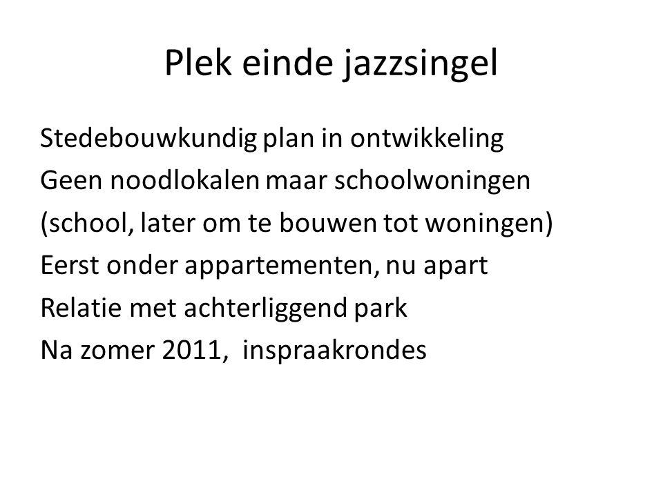 Plek einde jazzsingel