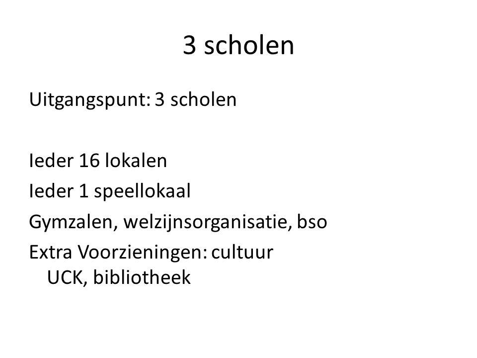 3 scholen