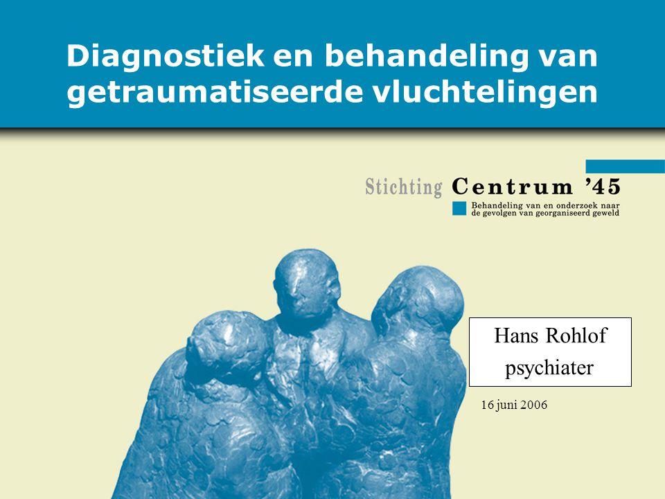 Diagnostiek en behandeling van getraumatiseerde vluchtelingen