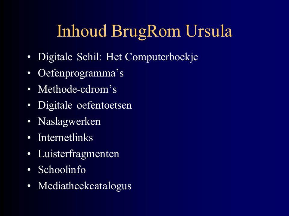 Inhoud BrugRom Ursula Digitale Schil: Het Computerboekje