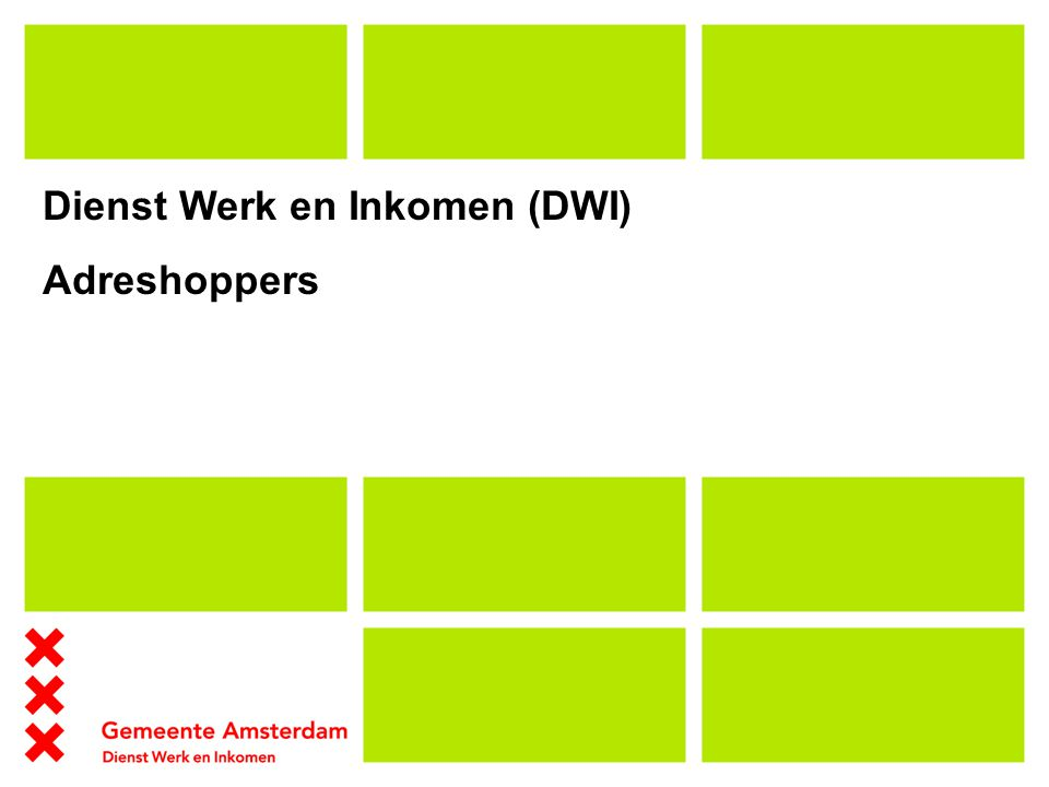 Dienst Werk en Inkomen (DWI)