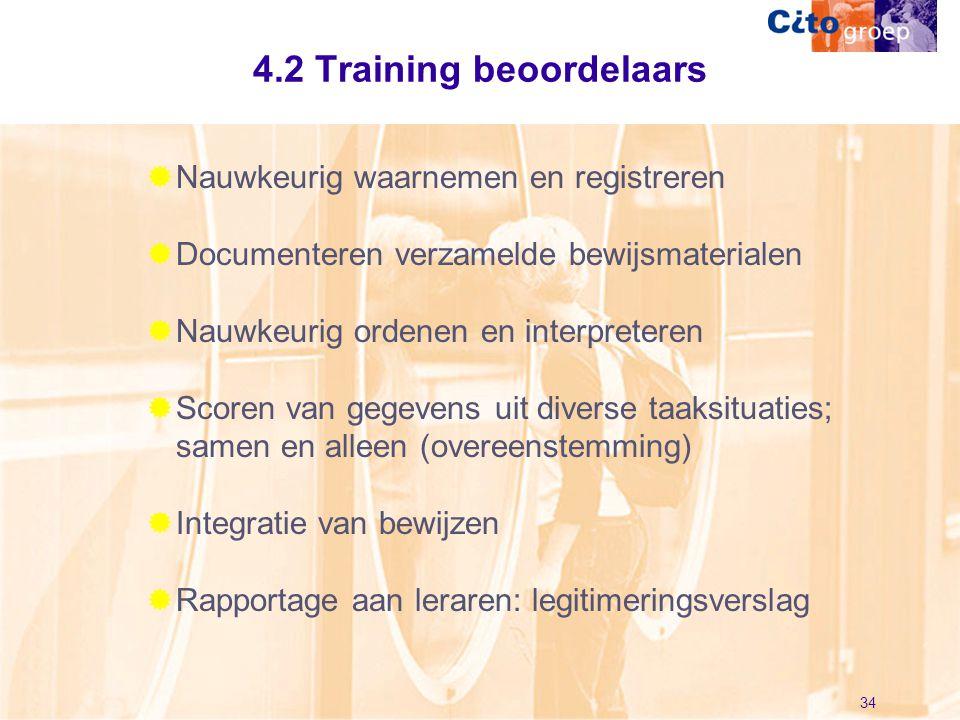4.2 Training beoordelaars