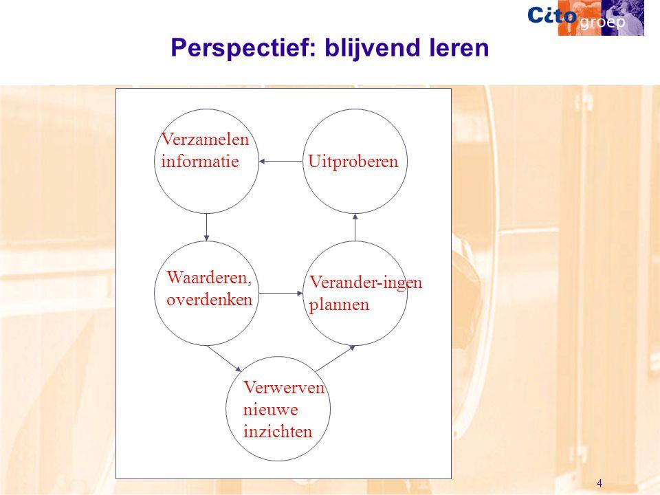 Perspectief: blijvend leren
