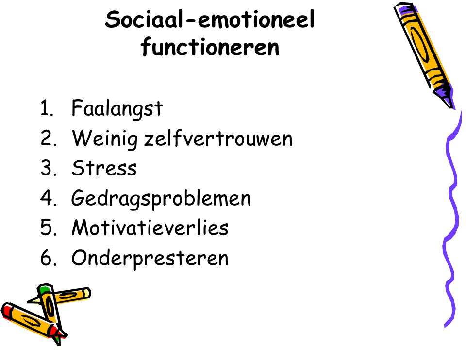 Sociaal-emotioneel functioneren