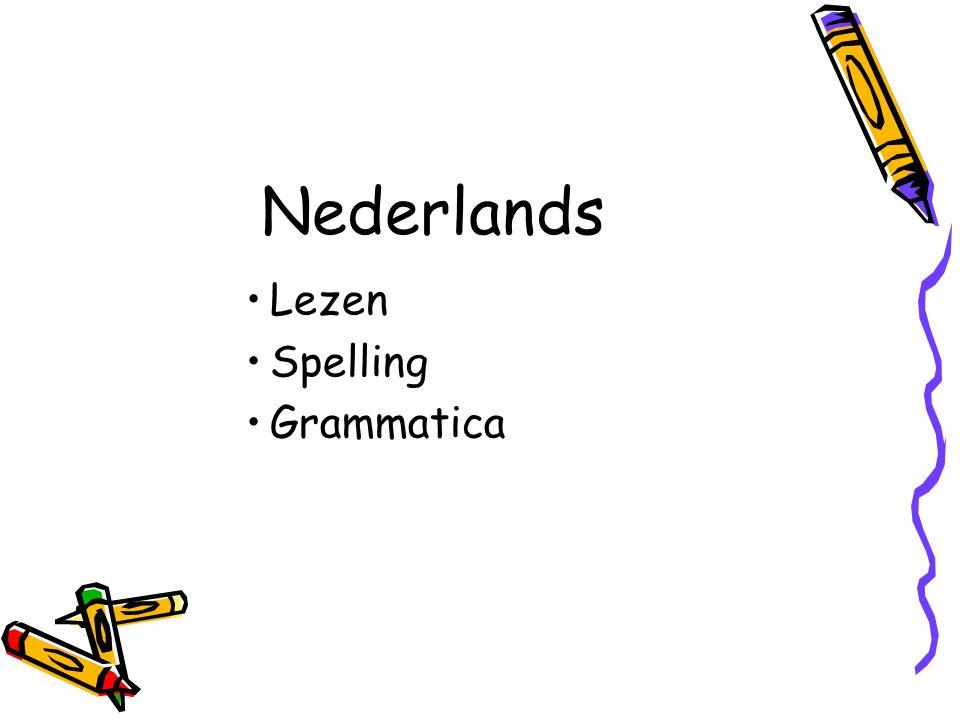 Nederlands Lezen Spelling Grammatica