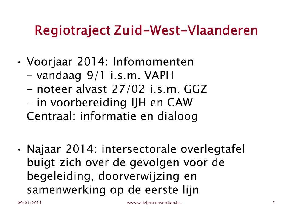 Regiotraject Zuid-West-Vlaanderen