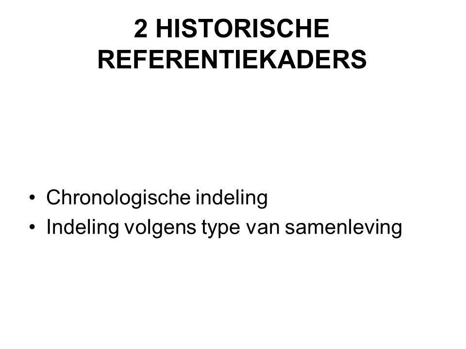 2 HISTORISCHE REFERENTIEKADERS