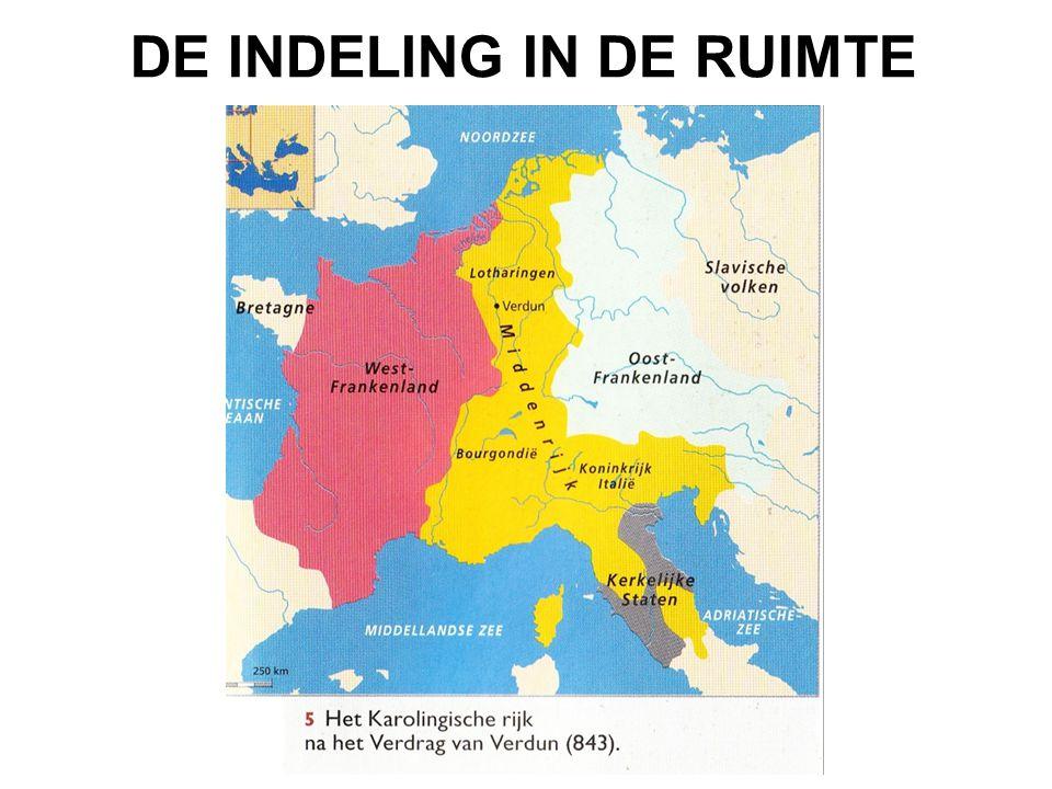 DE INDELING IN DE RUIMTE