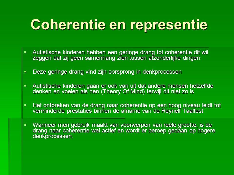 Coherentie en representie
