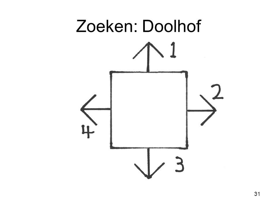 Zoeken: Doolhof