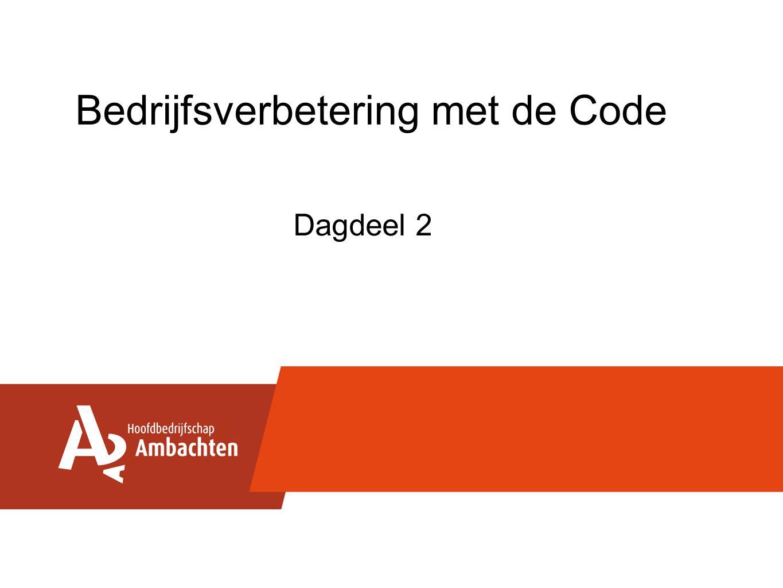 Bedrijfsverbetering met de Code