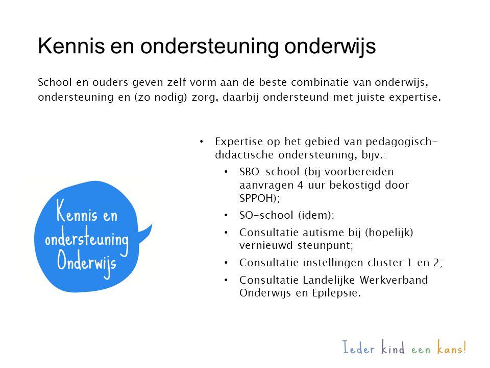 Kennis en ondersteuning onderwijs