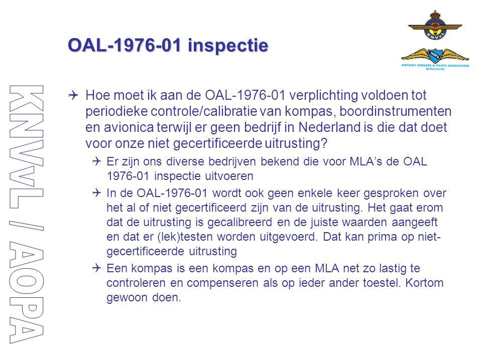 OAL-1976-01 inspectie
